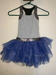Blue Tutu Dance Costume
