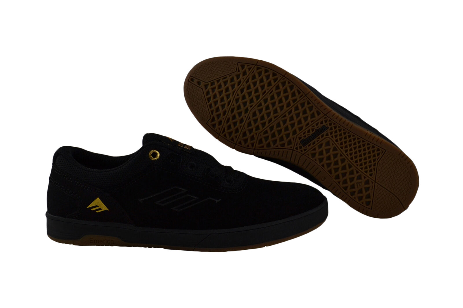 Emerica Westgate CC black/black/gum Skater Sneaker/Schuhe schwarz