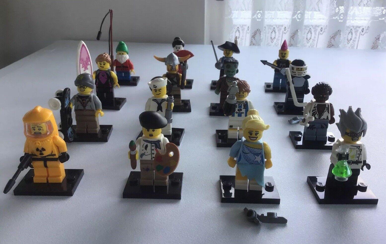 Lego minifigures serie 4 Set 8804 completa 16 Minifiguras desde 2011