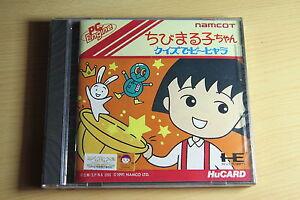 Chibi-Maruko-Chan-NEC-PC-Engine-Hucard-import-JAP-neuf-new-neu