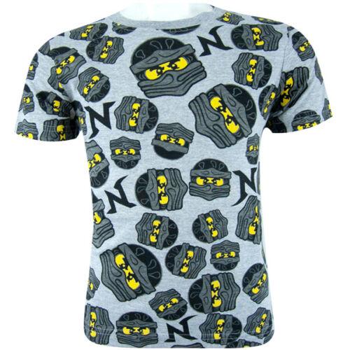 104-140 Kurzarmshirt Poloshirt Shirt Rot Lego NINJAGO T-Shirt