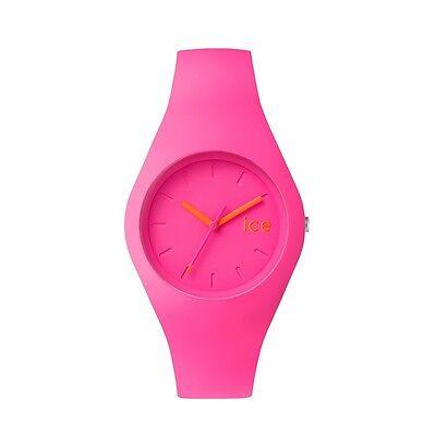 Ice Watch Ice Ola Neon Pink Armbanduhr ICE.NPK.U.S.15 NEU OVP