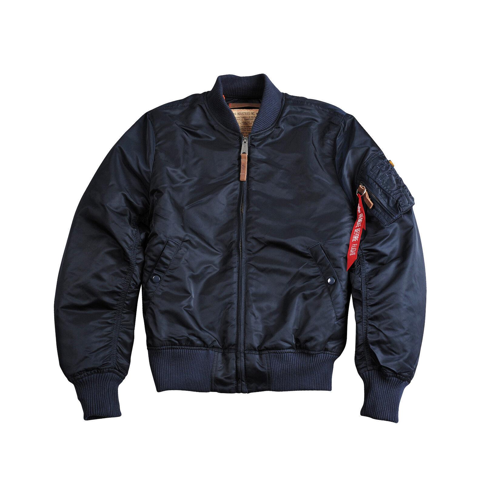 2507fdb6d82694 Alpha MA-1 59 191118 rep. bluee Größe XL NEU VF Industries  ntmiyt16870-Coats   Jackets