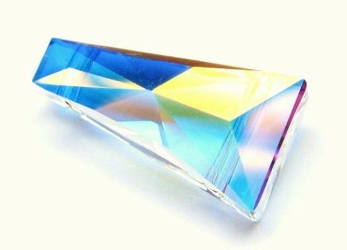 1xSwarovski ®  AB Crystal 17x9mm Keystone Bead