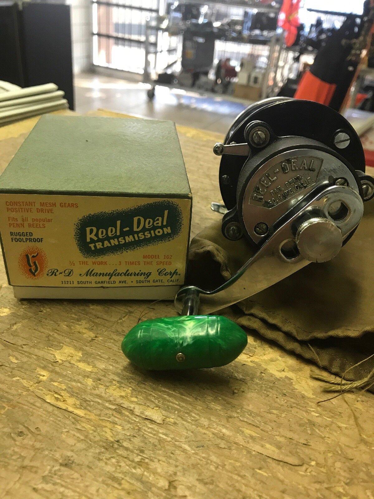 Vintage Penn Leveline 350 wReelDeel Transmission