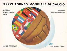 9379) VIAREGGIO CARNEVALE 1984, XXXVI TORNEO MONDIALE DI CALCIO, ARGO STUFE.