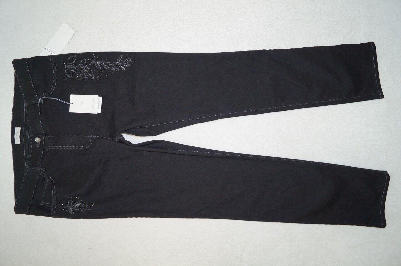 GERRY WEBER Collection Jeans Gr. 42 Regular schwarz  Stretch NEU