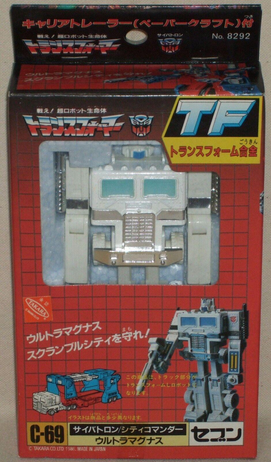 Transformers C-69 Ultra Magnus comandante de ciudad Figuras Muñecas siete sin usar raro