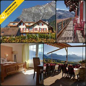 Kurzurlaub-Schweiz-4-Tage-2-Personen-Hotel-Hotelgutschein-Wochenende-Reiseschein