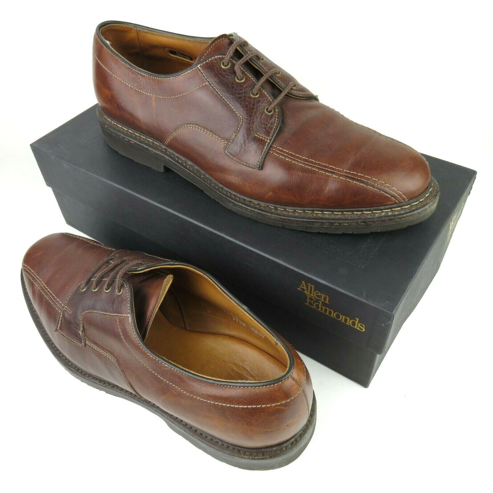 ALLEN EDMONDS  MAPLETON   Marron Vélo Toe Oxford Chaussures   taille 11.5 B