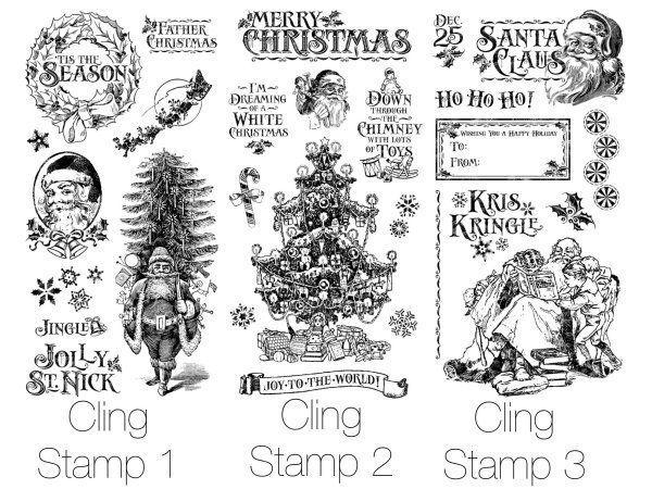 Graphic 45 ~ MON AMOUR ~ Stamp Set 3