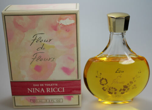 Fleur de Fleurs by Nina Ricci 100 ml Eau de Toilette EdT Splash NEU/OVP  EimwN Cj7Fu