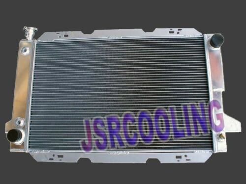 2 ROW Aluminum Radiator fit for 1985-1997 FORD F150//F250//F350 5.0 5.8 7.5 V8 New