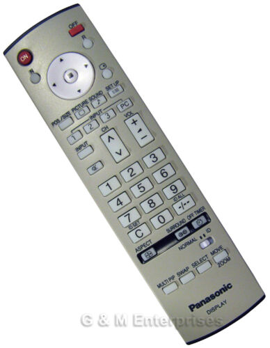 New Panasonic EUR7636070R Replacement Remote for 2005-10 Pro Plasmas US Seller
