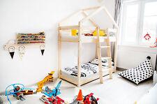 Kinderbett - Holzhaus Bett Für Kinder TALO D5 80x160 cm