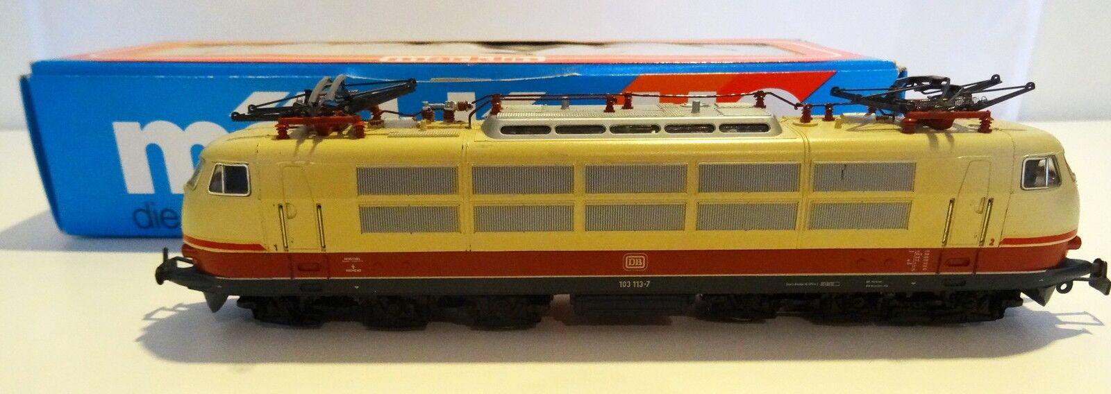 Ancianos ho Märklin ho 3054 Lok 103 113-DB-de colección con el embalaje original