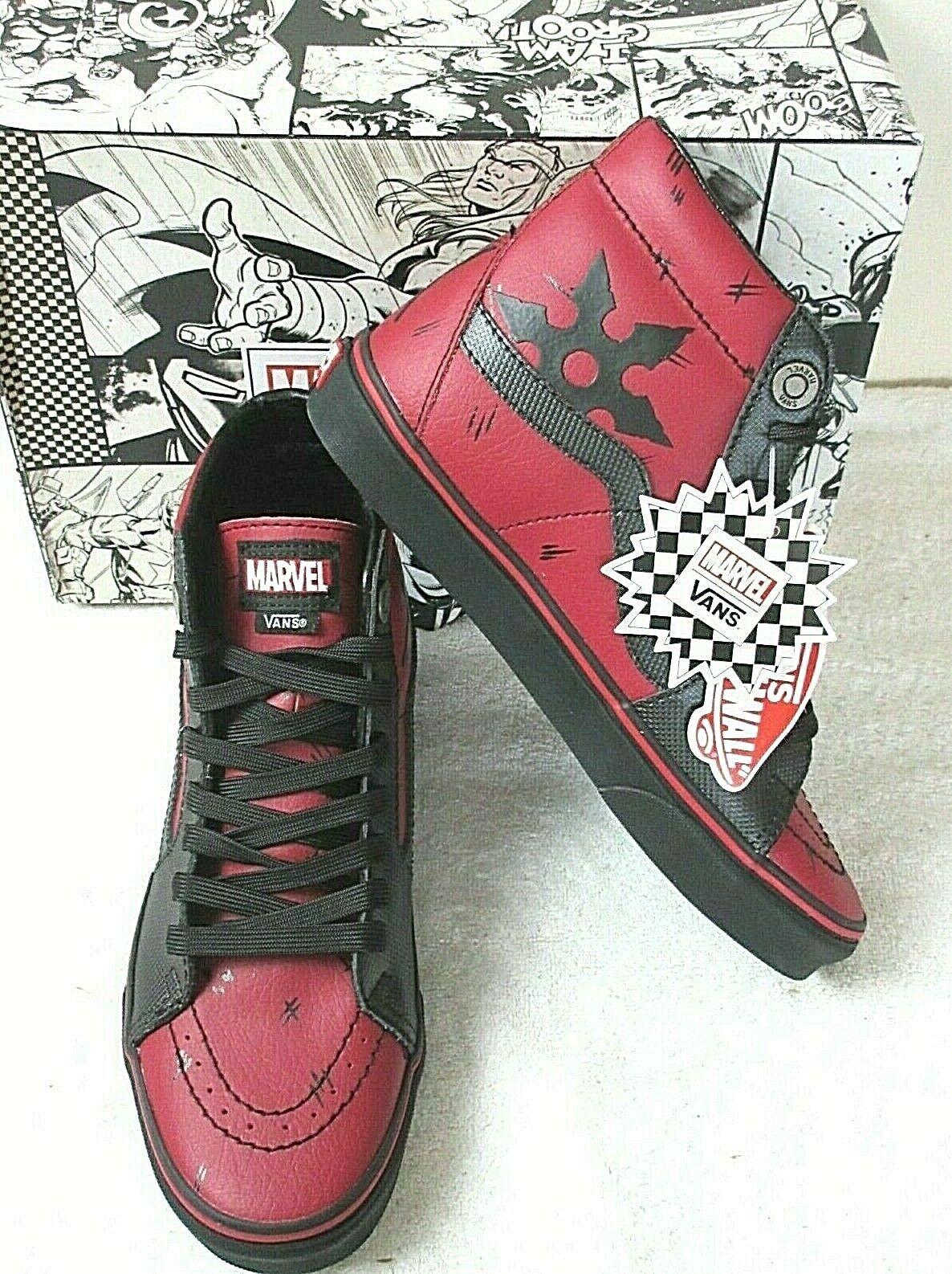 Size 7 - VANS Sk8-Hi x Marvel Deadpool for sale online | eBay