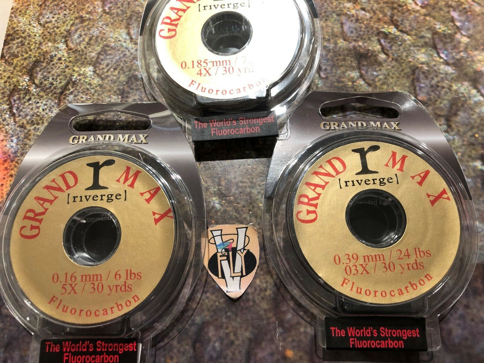 Grand Max Riverge Salmon, Trout & Saltwater Flugoldcarbon Leader Material