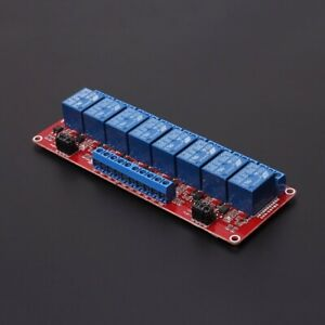 Details about 12V 8-Channel Relay Module + Optocoupler High Low Level on