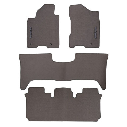 OEM NEW 2010-2013 Nissan Armada SV SL Platinum Carpeted Floor Mats 999E2-2W011GY