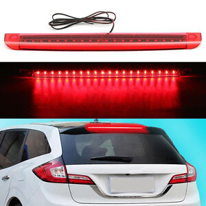 Universal-Red-LED-Car-High-Mount-Level-Third-3RD-Brake-Stop-Rear-Tail-Light-Top