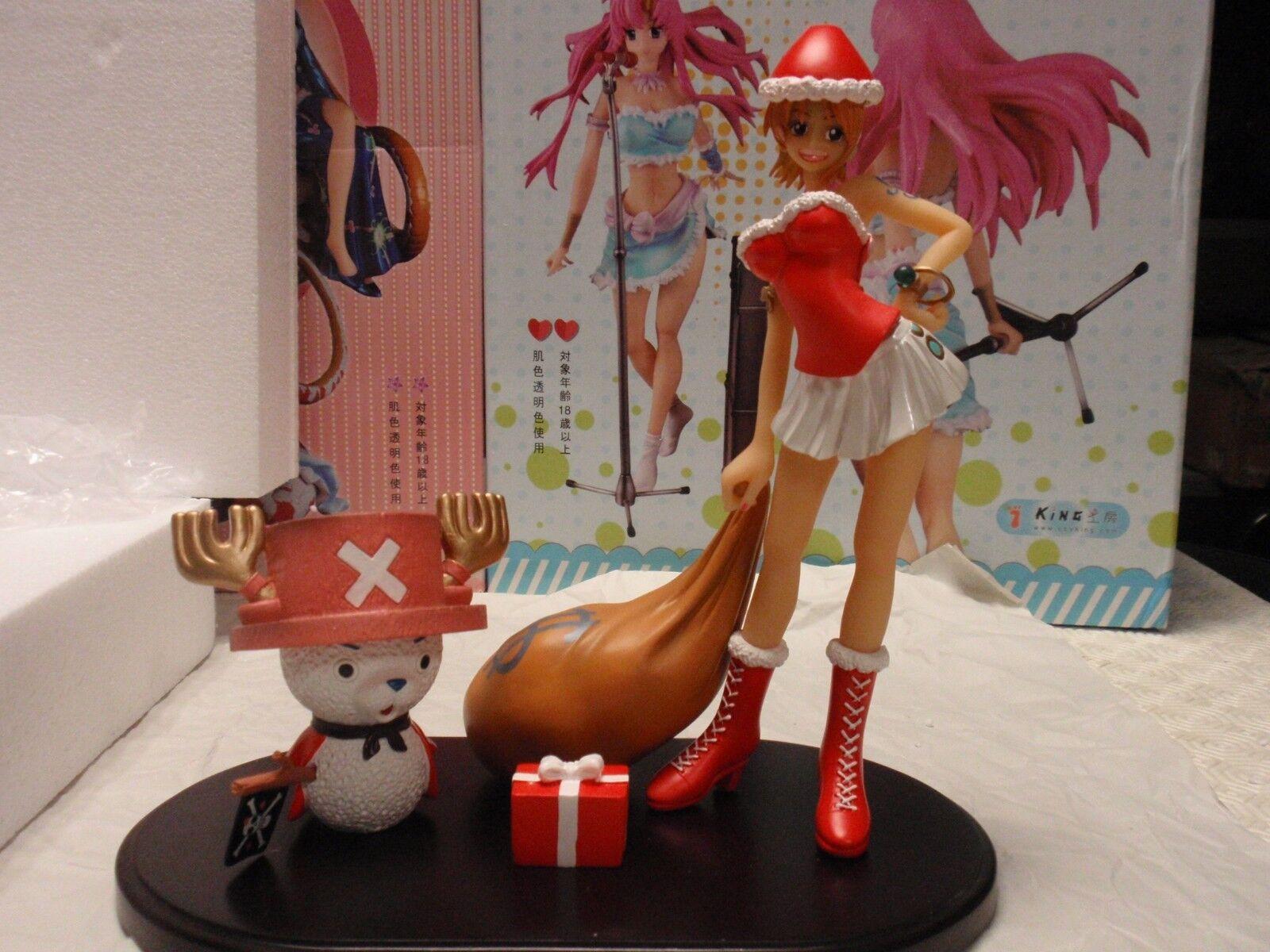 One Piece Nami christmas Custom GK resin figure Bishoujo POP