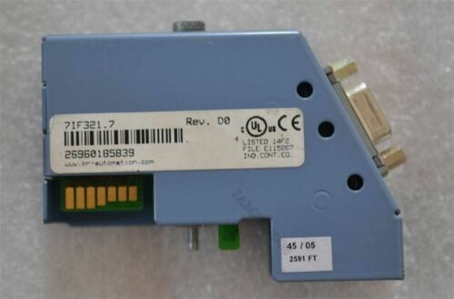 Verwendet 1 Stück B R AC112 Kommunikationskarte IF321 7IF321.7 en