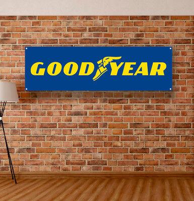 YOKOHAMA Tires Vinyl Banner Sign Garage Adversting Flag Poster Workshop Tyre