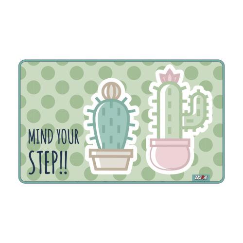 high-quality carpet 75 x 45 cm Cactus mind your step