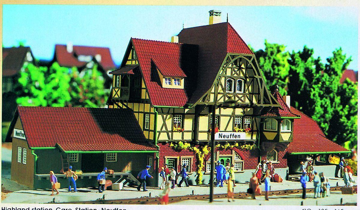 Vollmer 43510 Stazione Neuffen, Kit di Costruzione, H0