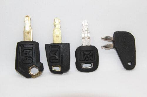 4 key set For 5P8500 Caterpillar Equipment Ignition Master Disconnect Key 8398