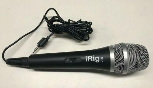 IK Multimedia ~ iRig Voice Karaoke Microphone For smartphone and tablets black