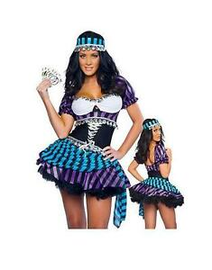 D Guisement Gitane Boh Mienne Gipsy Tzigane Costume Halloween Pour Femme 39136 Ebay
