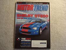 Motor Trend 2009 March Shelby GT500 Lexus RX Porsche Ford Flex Cobalt SS VW GTI