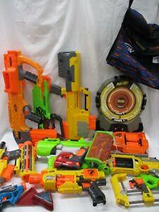 Big-Nerf-Bundle-Lot-Rival-Elite-N-Strike-Guns-Blasters-Target-Darts-ARE