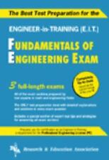 Best Test Preparation for the Fundamentals of Engineering Exam REA test preps
