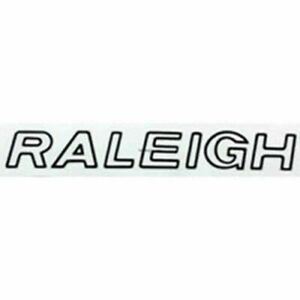 Raleigh 1980/'s downtube decal