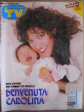 TV Sorrisi e Canzoni n°48 1991 Marcella Bella Monica Bellucci Dorelli  [D45]