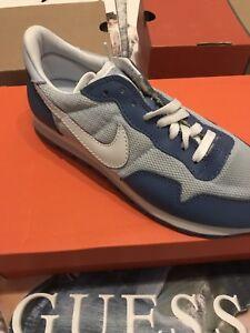 Metropolitana 6 Chambray Nike Pelle Plus Donna Blu Da Scarpe bianco Taglia qWnwHgnOC