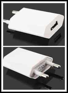 Alimentatore-USB-CA-spina-UE-Adattatore-Di-Alimentazione-Adatto-Per-Samsung-LOT