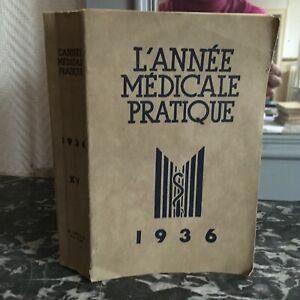 ANNO Medico Pratica Xve Camille Lian Rene Lépine 1936