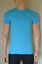 NEW Abercrombie & Fitch Classic Crew Neck Moose Tee T-Shirt Turquoise Blue XL