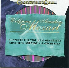 CD - Wolfgang Amadeus Mozart - Konzerte für Violine und Orchester