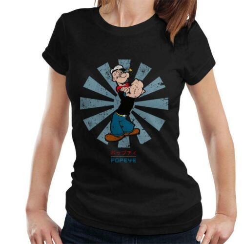POPEYE Rétro japonais T-shirt femme