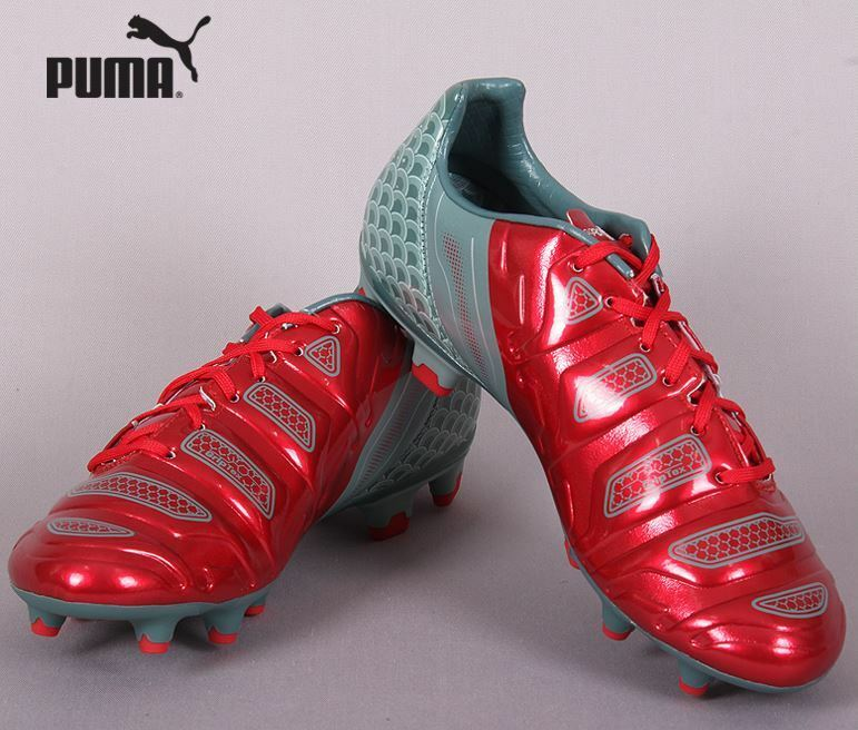 PUMA EVO POWER 2.2 Graphic FG 10342401 Soccer Football Cleats shoes Boots