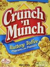 Crunch N Munch Buttery Toffee Popcorn Amp Peanut Snack 6oz Box Pack Of 3