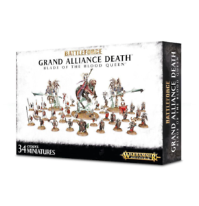 Warhammer Age of Sigmar Grand Alliance Death Blade of the Blood Queen