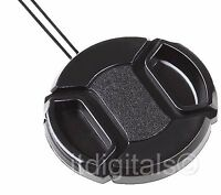 Snap-on Front Lens Cap For Fuji Fujifilm Finepix S9500 S-9500 Camera Direct Fit