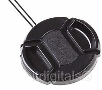 Snap-on Front Lens Cap For Fuji Fujifilm Finepix S8500 S-8500 Camera Direct Fit