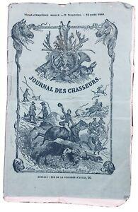 Chasse-Lac-du-Bourget-1861-Alpes-Savoie-Mouflons-Constantine-Algerie-Chambery